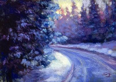 Painting - Winter's Exodus by Susan Jenkins