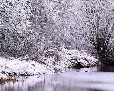 Photograph - Winters First Icy Breath by Stephen Melia