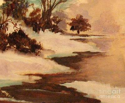 Painting - Winter's Glow by Hazel Holland