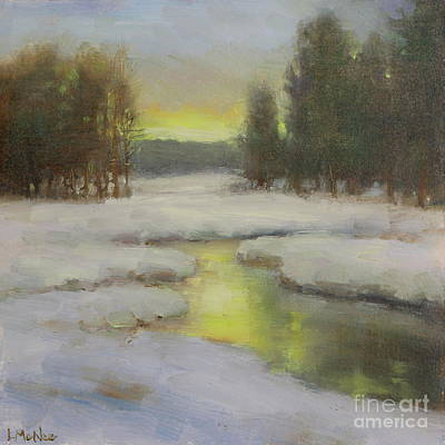 Painting - Winter's Glow by Lori McNee