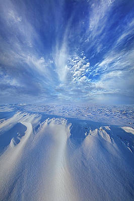 Print featuring the photograph Winter's Hue by Phil Koch