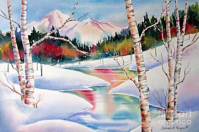 Winter's Light Original by Deborah Ronglien