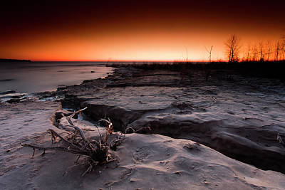 Photograph - Winters Mark by CA Johnson