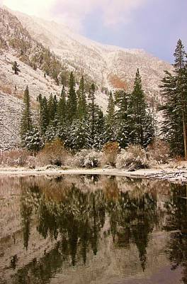 Photograph - Winter's Morning Reflection by Sean Sarsfield