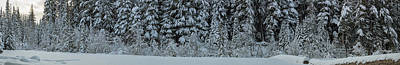Photograph - Winters Panorama by Kunal Mehra