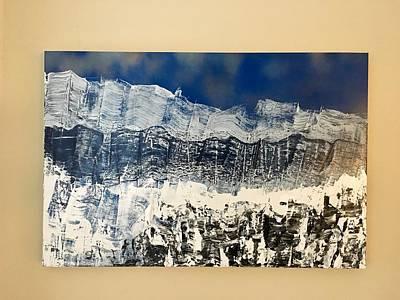Painting - Winters Peak by Brooke Friendly