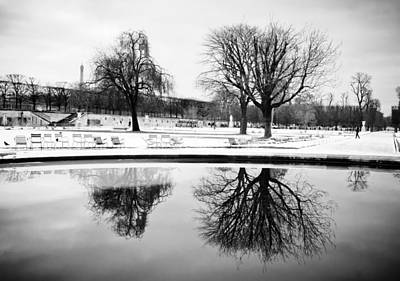 Photograph - Winter's Reflection by Sophia Pagan