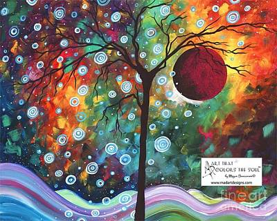 Painting - Winters Return Limited Edition Prints And Original Abstract Landscape Painting By Megan Duncanson by Megan Duncanson
