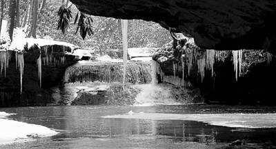 Photograph - Winters Secrets by Gary Edward Jennings