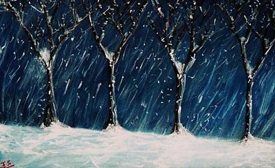 Painting - Winter's Snow by John Scates