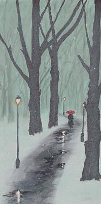 Painting - Winters Snow by Ken Figurski