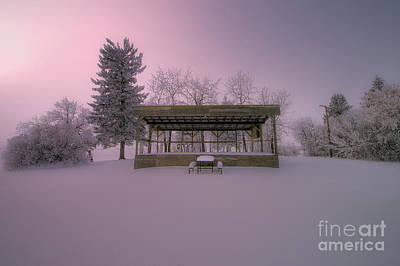 D800 Photograph - Winter's Stage by Ian McGregor
