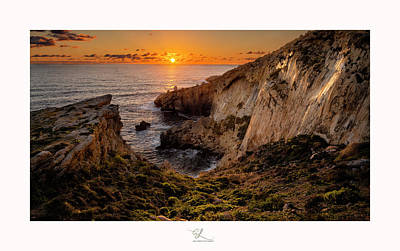 Photograph - Winter's Sunset by Adel Ferrito