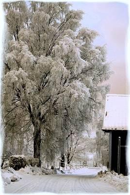Romantik Photograph - Winter's Tale by TinaDeFortunata