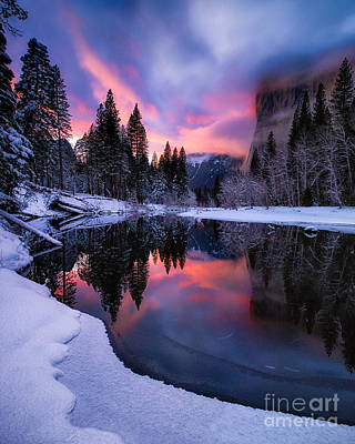 Photograph - Winter's Twilight by Anthony Bonafede