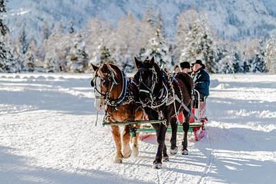 Photograph - Winter's Wonderland by Laddie Halupa