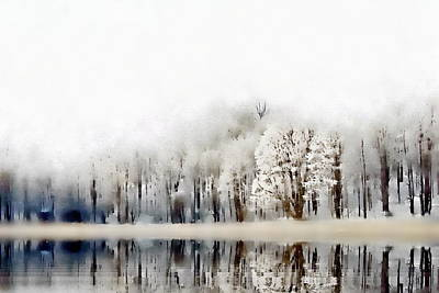 Photograph - Winterscape  by Andrea Kollo