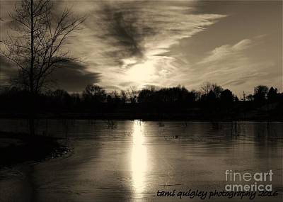 Photograph - Winterset by Tami Quigley