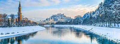 Photograph - Wintertime In Salzburg by JR Photography