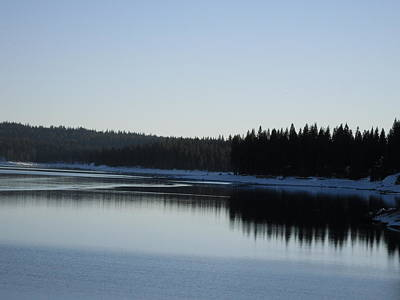 Photograph - Wintertime Reflections 2 by Susanne Awbrey