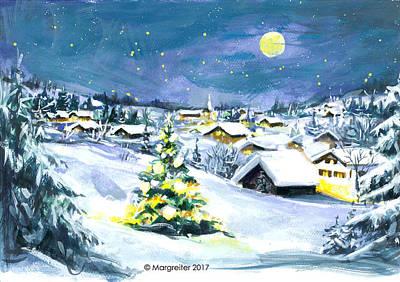 Pastel - Winterwonderland by Johannes Margreiter