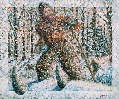 Winterwoods Art Print by Jim Rehlin