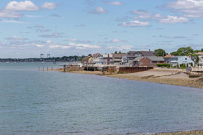 Photograph - Winthrop From Deer Island by Brian MacLean