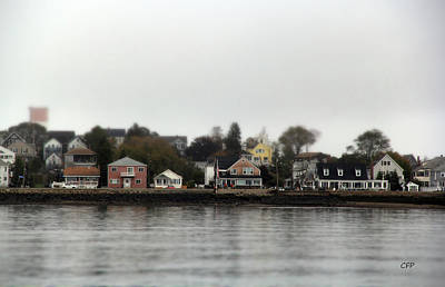 Photograph - Winthrop Waterfront by Becca Brann
