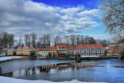 Photograph - Wintry Nyborg by Ingrid Dendievel