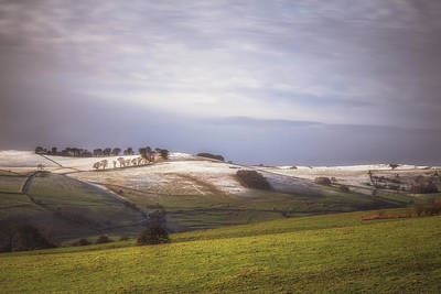 Peak District Photograph - Wintry Peaks by Chris Fletcher