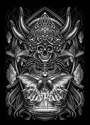 Victorian Death Digital Art - Winya No. 102 by Winya Sangsorn