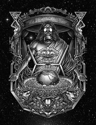 Victorian Death Digital Art - Winya No. 104 by Winya Sangsorn