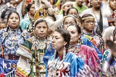 Photograph - Winyan Strength by Clarice Lakota