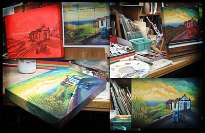 Painting - Wip Gallery Image by Retta Stephenson
