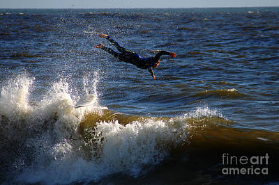 Bruster Photograph - Wipe Out by Clayton Bruster