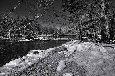 Photograph - Wire Bridge Spring by Patrick Groleau