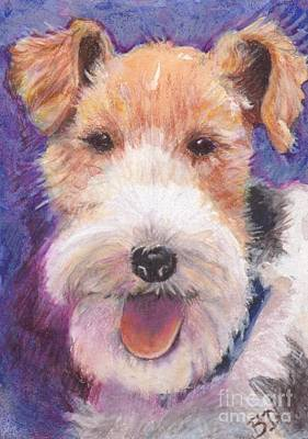 Wire Fox Terrier Painting - Wire Fox Terrier by Barbara Donati