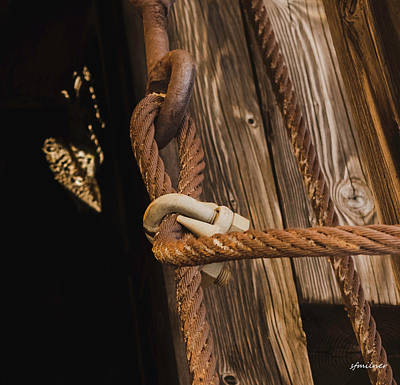 Photograph - Wire Rope by Steven Milner
