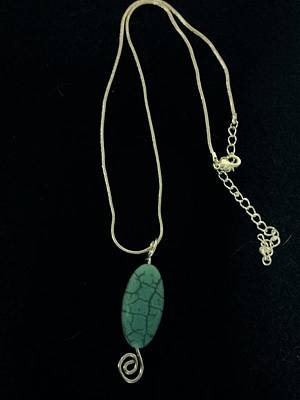 Jewelry - Wire Wrapped Pendant by J Cheyenne Howell