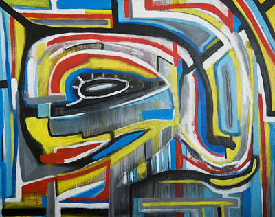 Painting - Wired Dreams  by Jose Rojas
