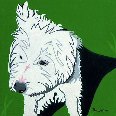 Wirehaired Jack Russell Terrier Art Print by Slade Roberts