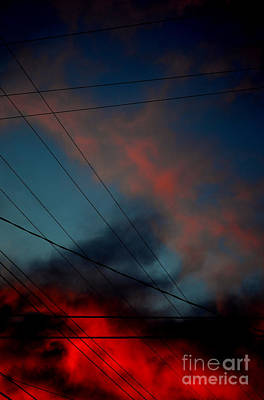 Photograph - wires I by Diane montana Jansson