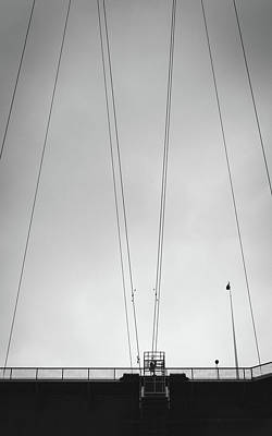Yorkshire Photograph - Wires II by Chris Dale