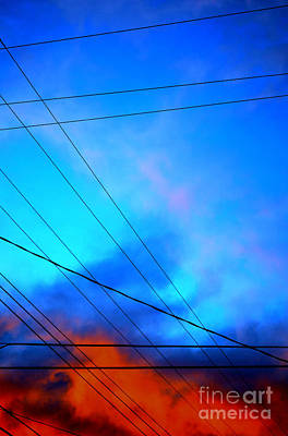 Photograph - wires II by Diane montana Jansson