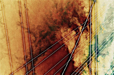 Photograph - wires IV by Diane montana Jansson