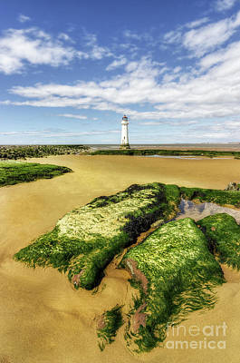 Photograph - Wirral Lighthouse by Ian Mitchell