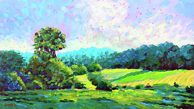 Wall Art - Painting - Wisconsin Afternoon by Charles Wallis