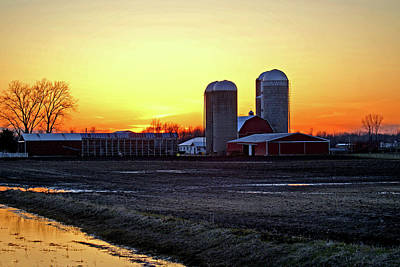 Photograph - Wisconsin At Sunset by Jean Haynes