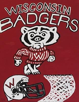 Wisconsin Badgers Original by Jonathon Hansen