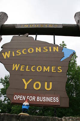 Photograph - Wisconsin Open For Business by George Jones